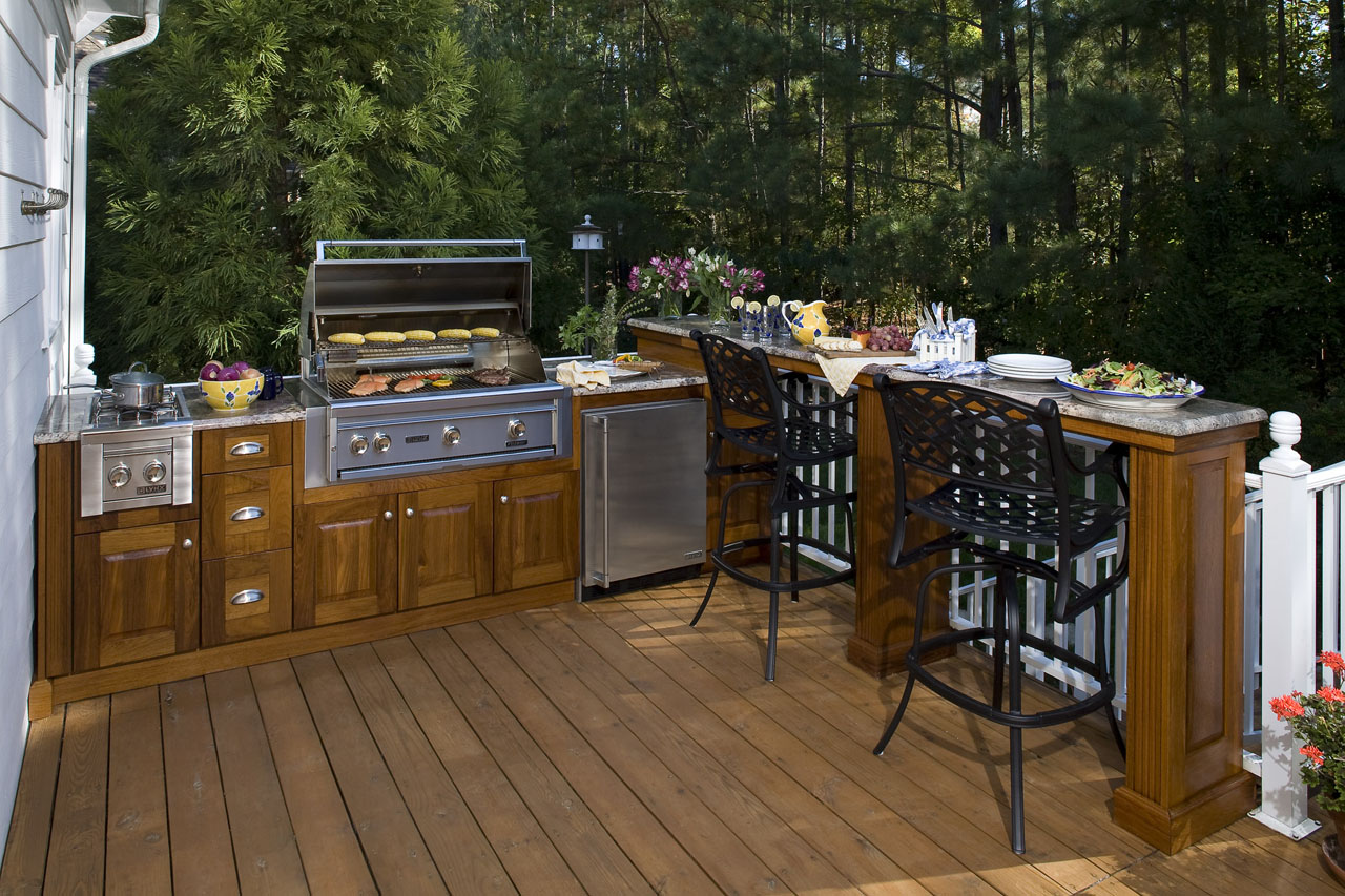 Outdoor Kitchens, Grill Detail