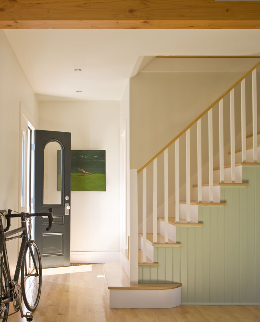 Stairwell of the Overall House in Concord, Massachusetts Estes/Twombly Architects