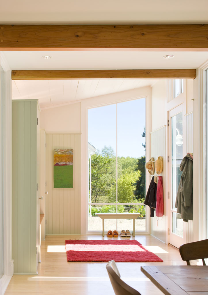 Back Hall of the Overall House in Concord, Massachusetts Estes/Twombly Architects