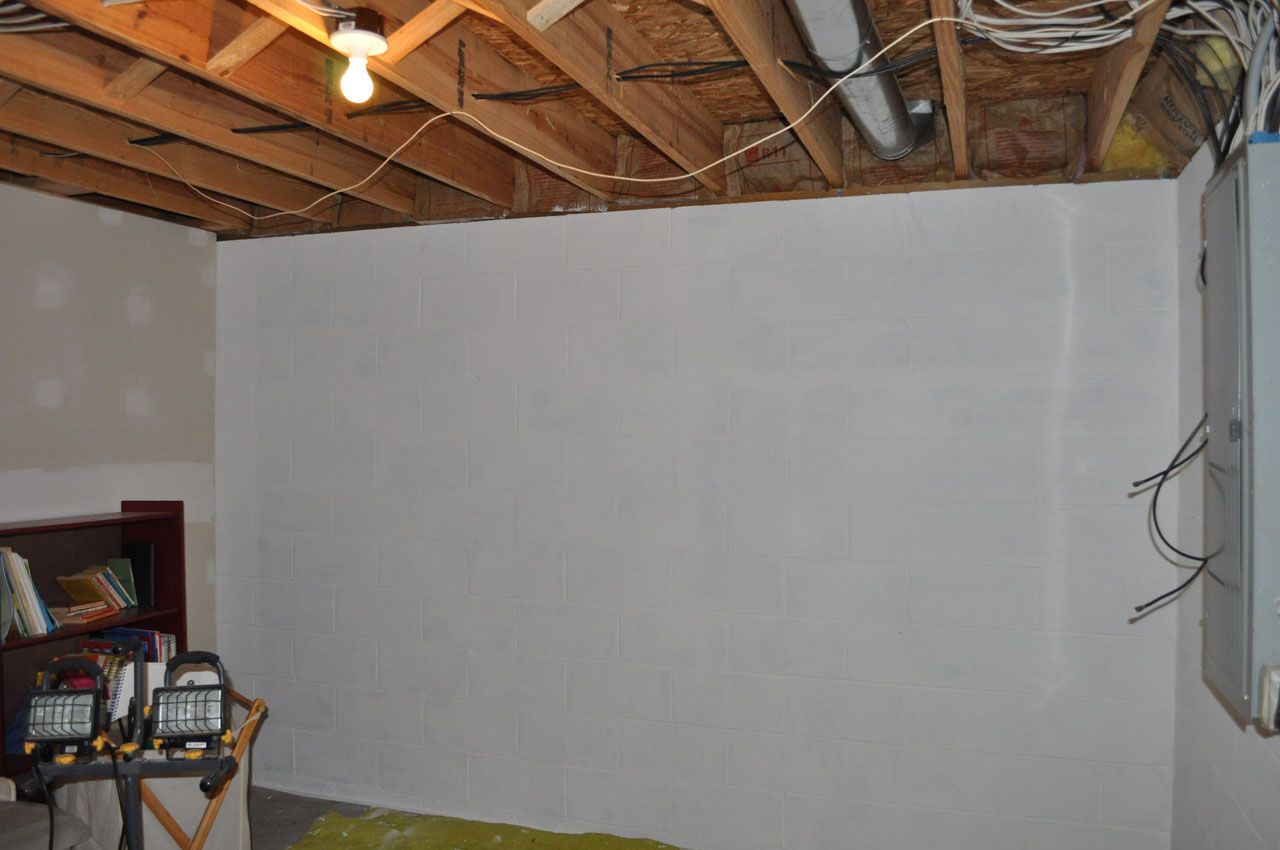 basement wall ideas. finishing Concrete Foundation Walls Applying Finishing Touches to  Buildipedia