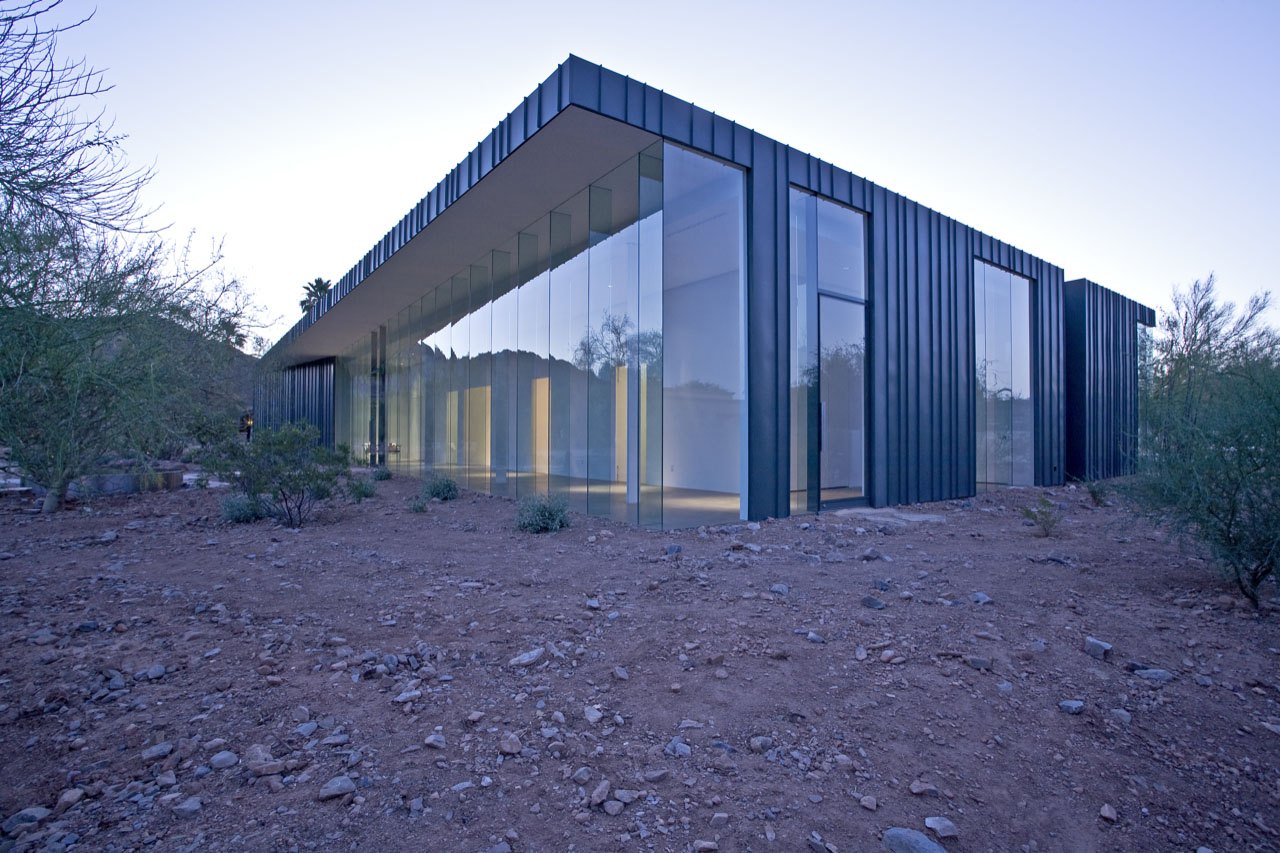 Desert House by Circle West Architects