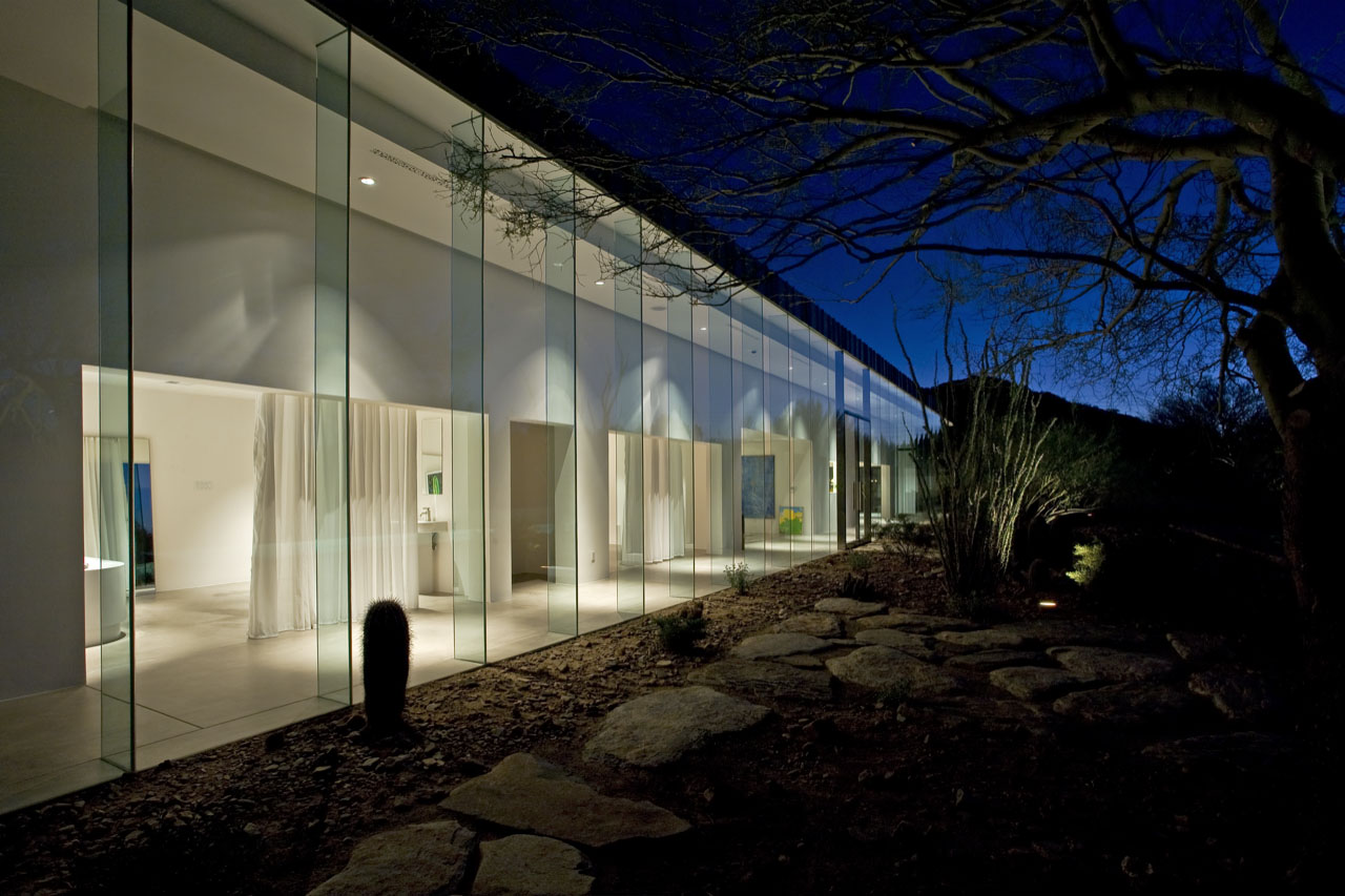 House of the Month: A Crystal in the Desert by Circle West ...
