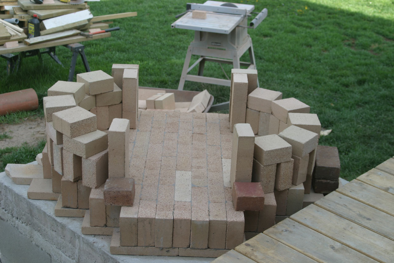 diy brick bread oven buildipedia