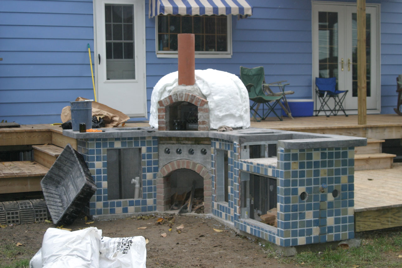 DIY Brick Bread Oven | Credit: Sherri James