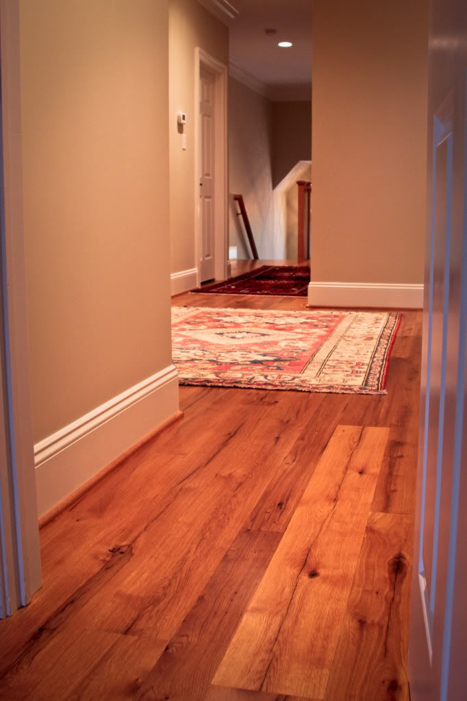 the character and durability of reclaimed wood flooring On recycled hardwood floors