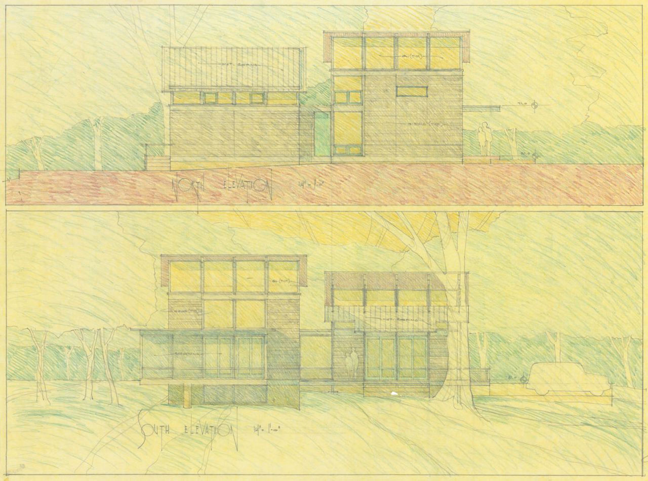 RainShine Sketch by architect Robert M. Cain