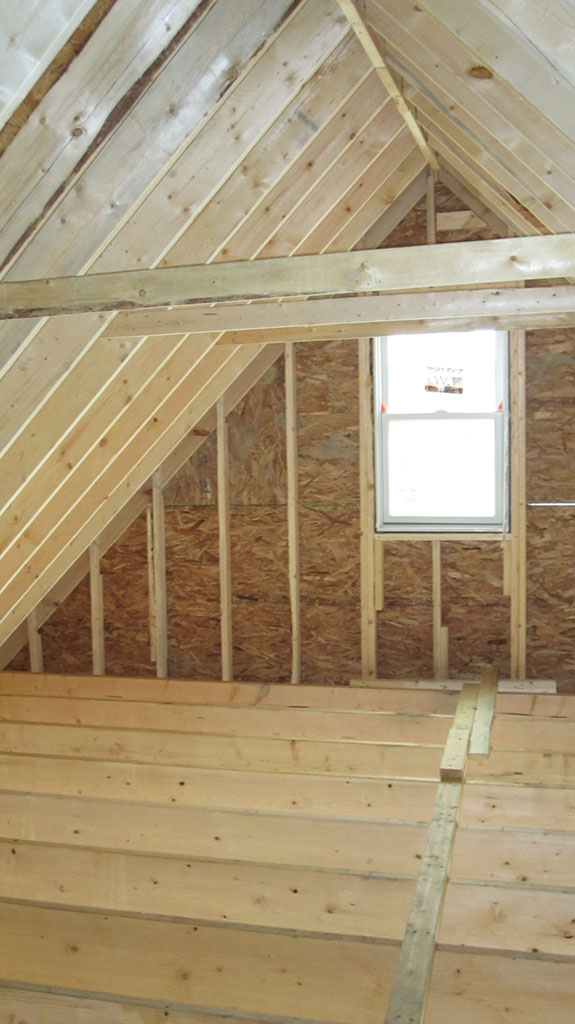 How feasible is it to remodel your attic buildipedia for House roof construction
