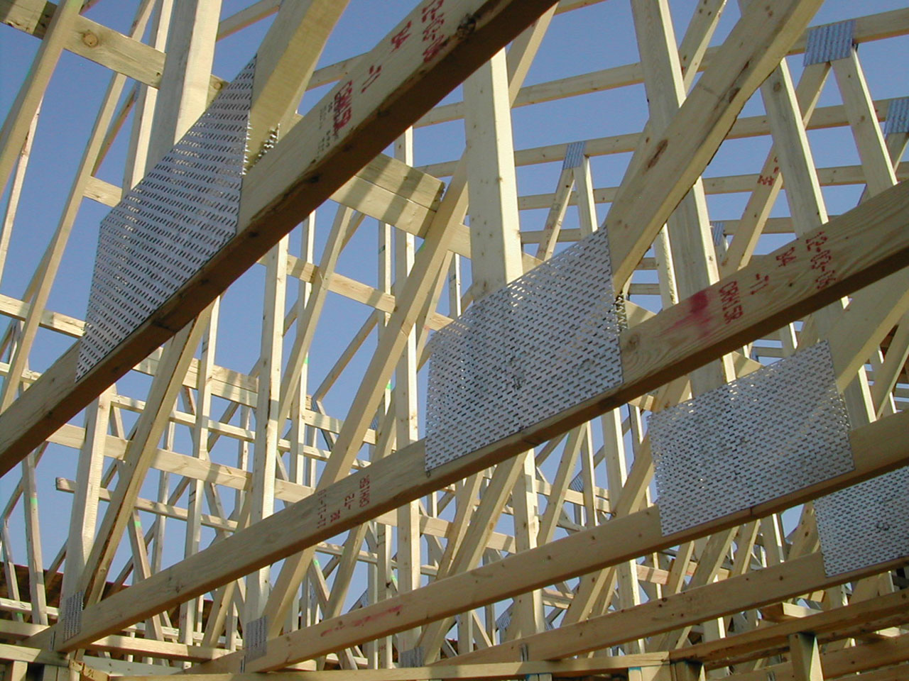building your own roof trusses