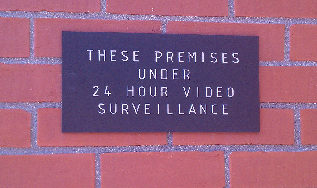 Video surveillance is effective | Photo (CC BY 2.0) by SierraTierra