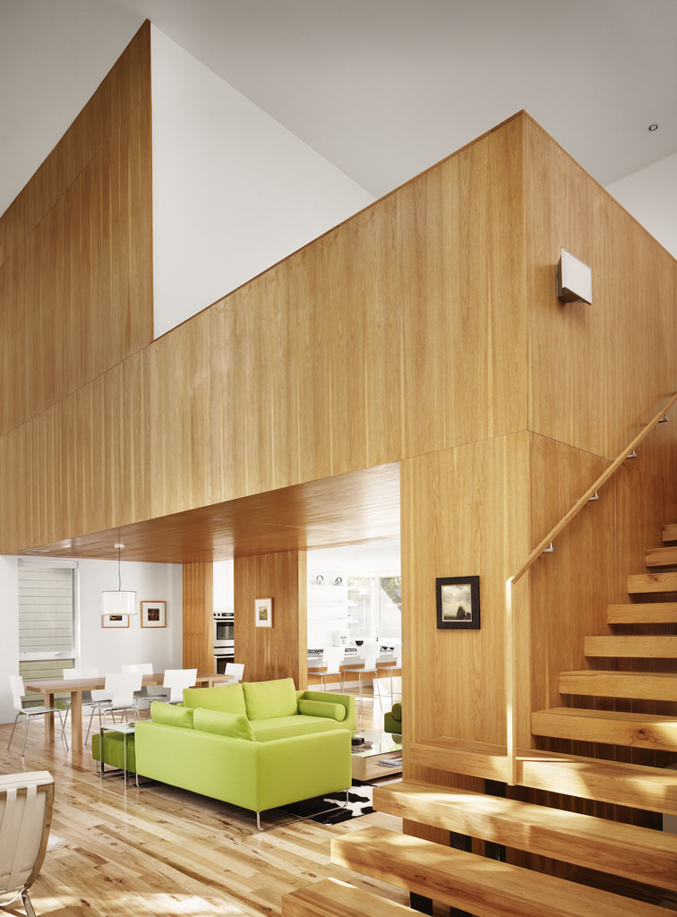 House of the month captured spaces an exercise in Curtains for wood paneled room