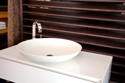 contemporary bathroom sink