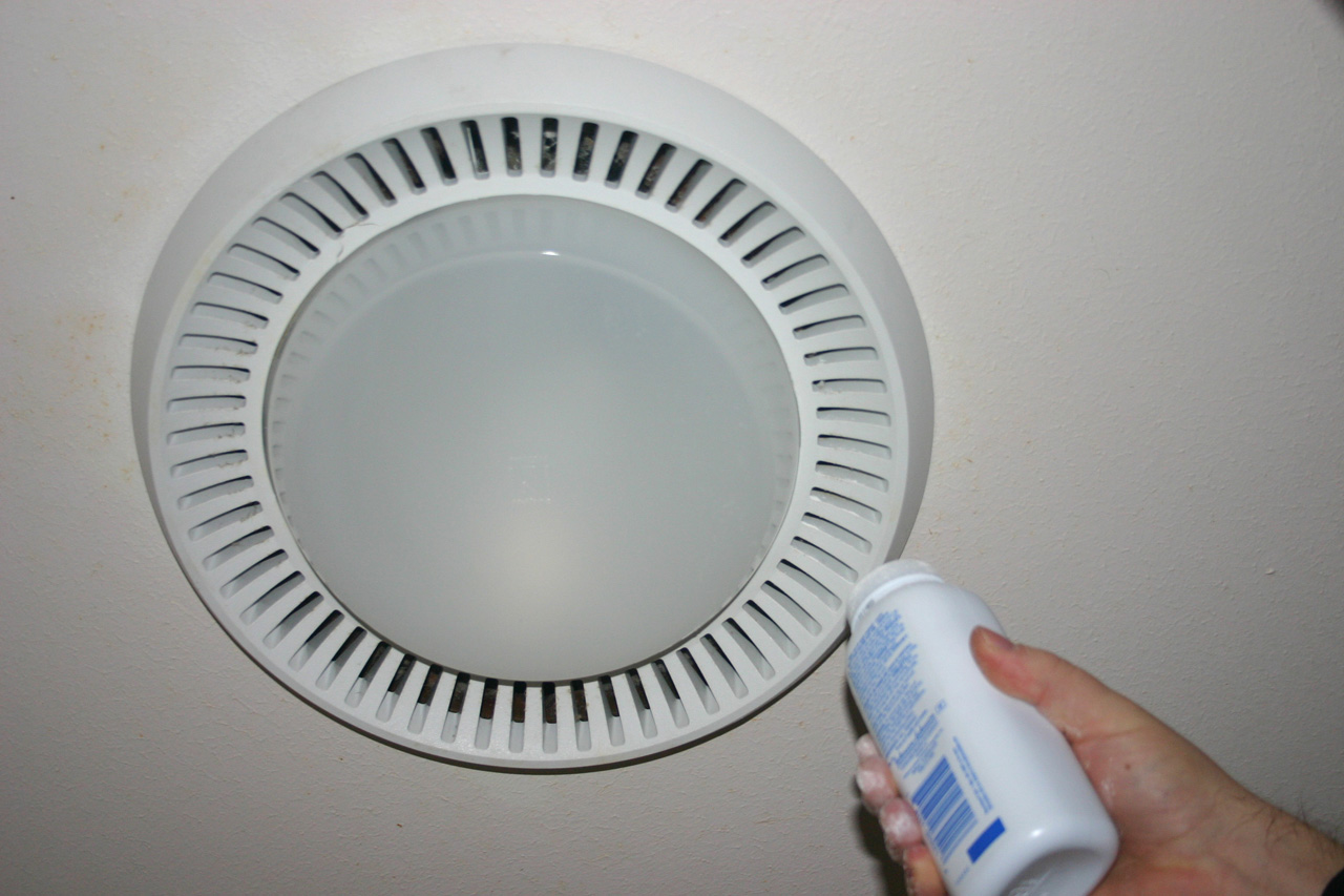 How to fix bathroom exhaust fan - Baby Powder And Cardboard Box Tests If In Fact Your Bathroom Exhaust Fan