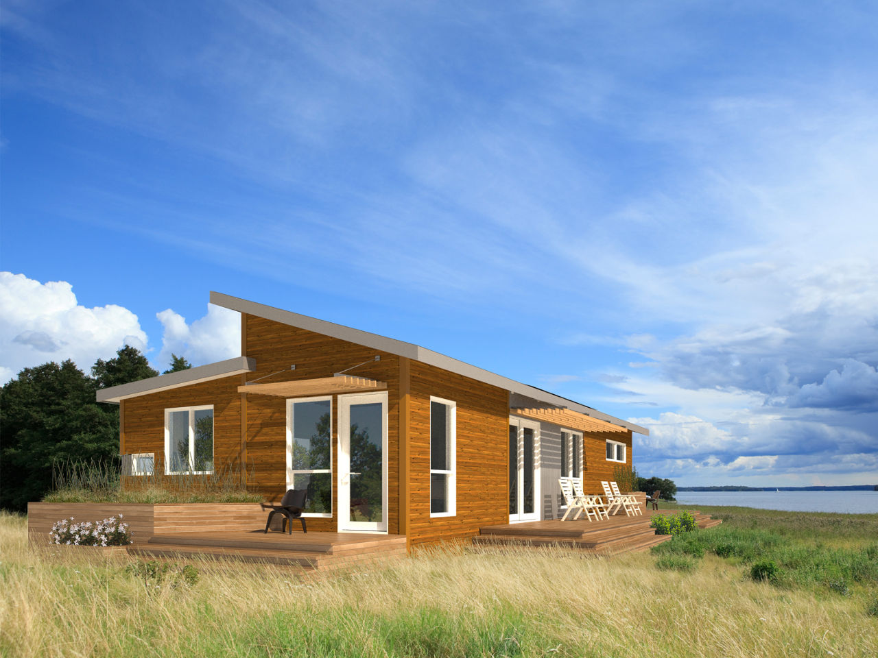 Eco friendly prefab homes unfold the possibilities for Green homes designs