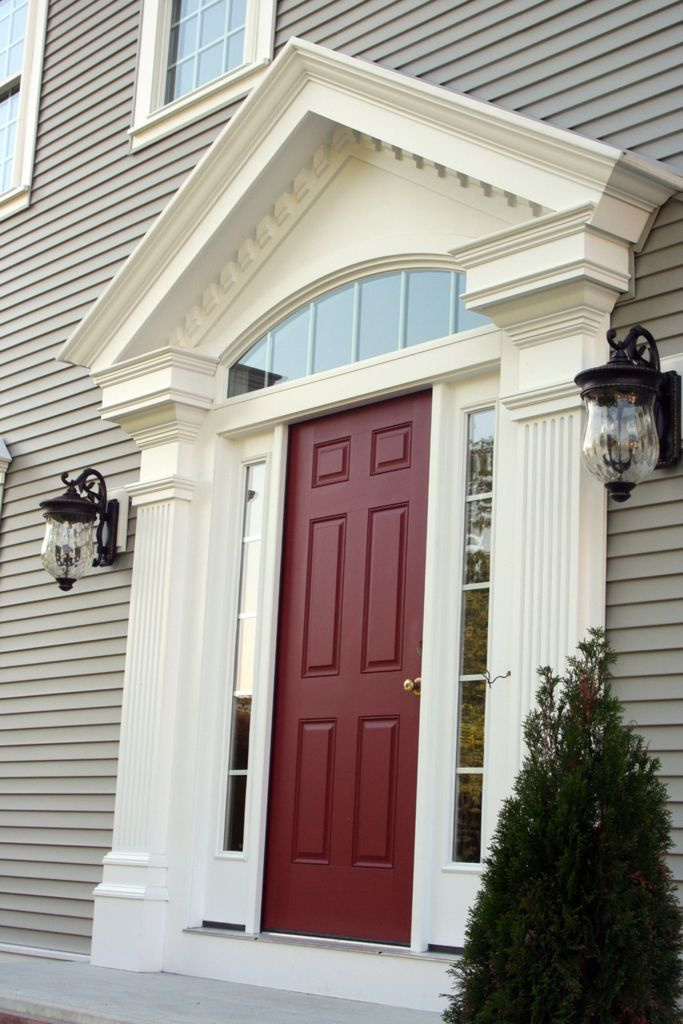 Entry Door Trim Replacement Beautiful Exterior Door Moulding Ideas