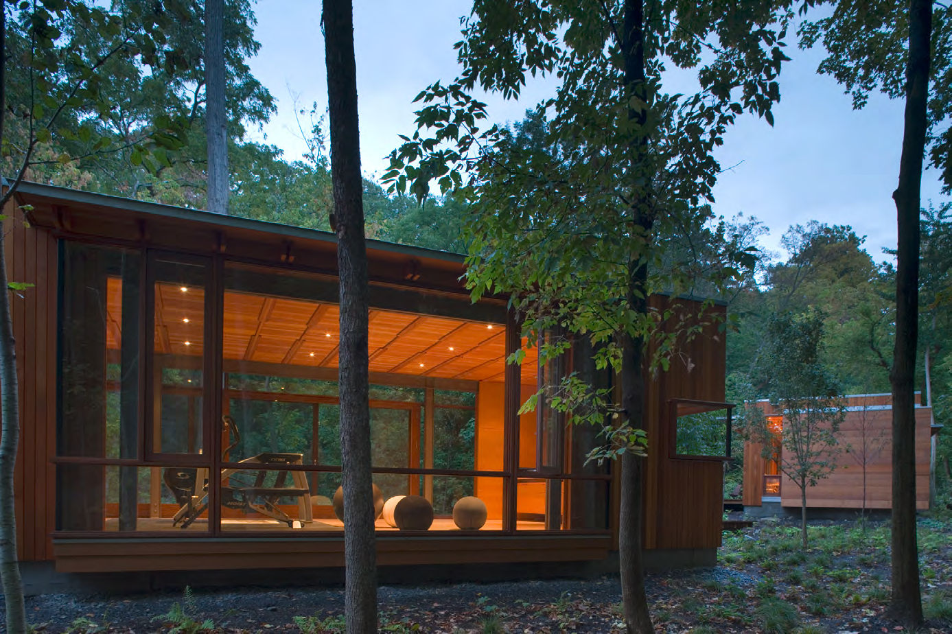 Exterior of the Combs Point Residence by Bohlin Cywinski Jackson