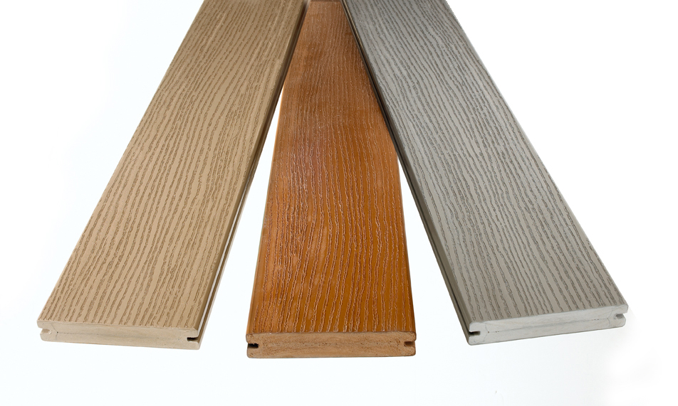 Decking materials decking materials timbertech for Plastic composite decking