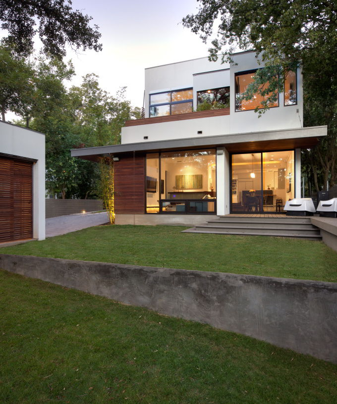 Modern Homes Austin: House Of The Month: Classic And Modern Architecture