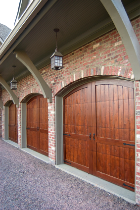 Carriage house-style garage door