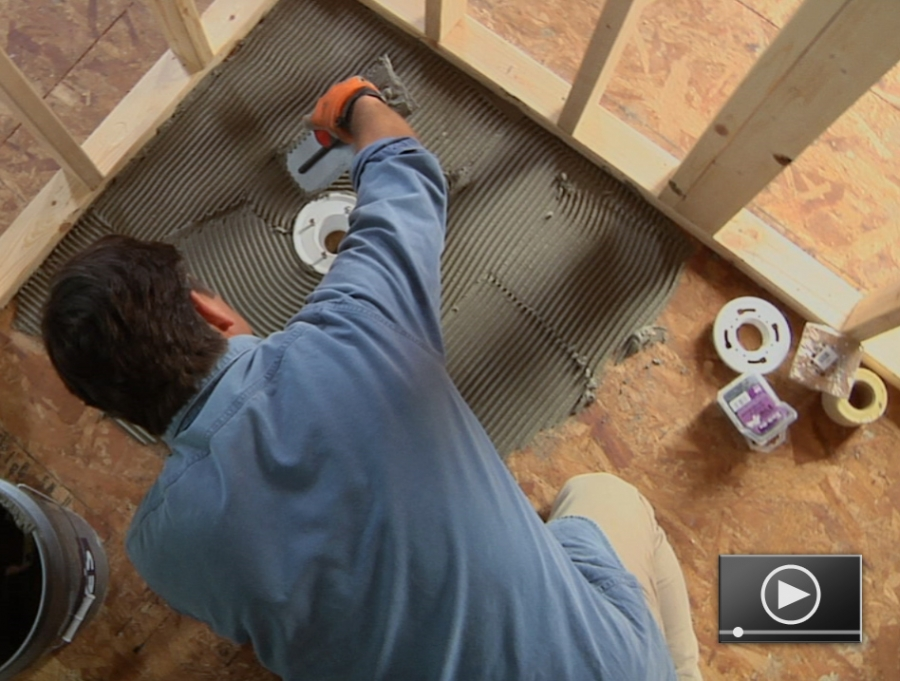 Remarkable How to Install a Custom Tile Shower Base 900 x 681 · 366 kB · jpeg