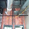 Batt Insulation Installed In Metal Stud Wall