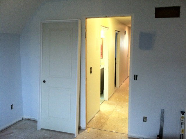 How to replace a prehung interior door buildipedia for Hanging interior prehung doors
