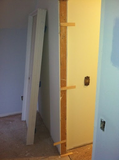 Download installing a prehung interior door with shims chickfilecloud for Hanging interior prehung doors