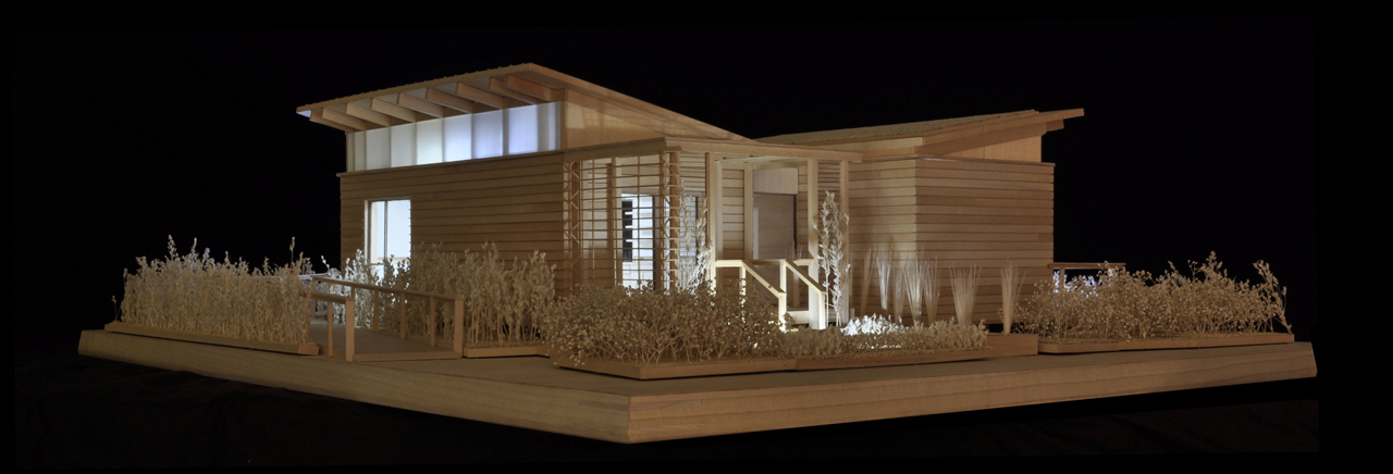 2011 Solar Decathlon University of Maryland WaterShed Model Night Perspective