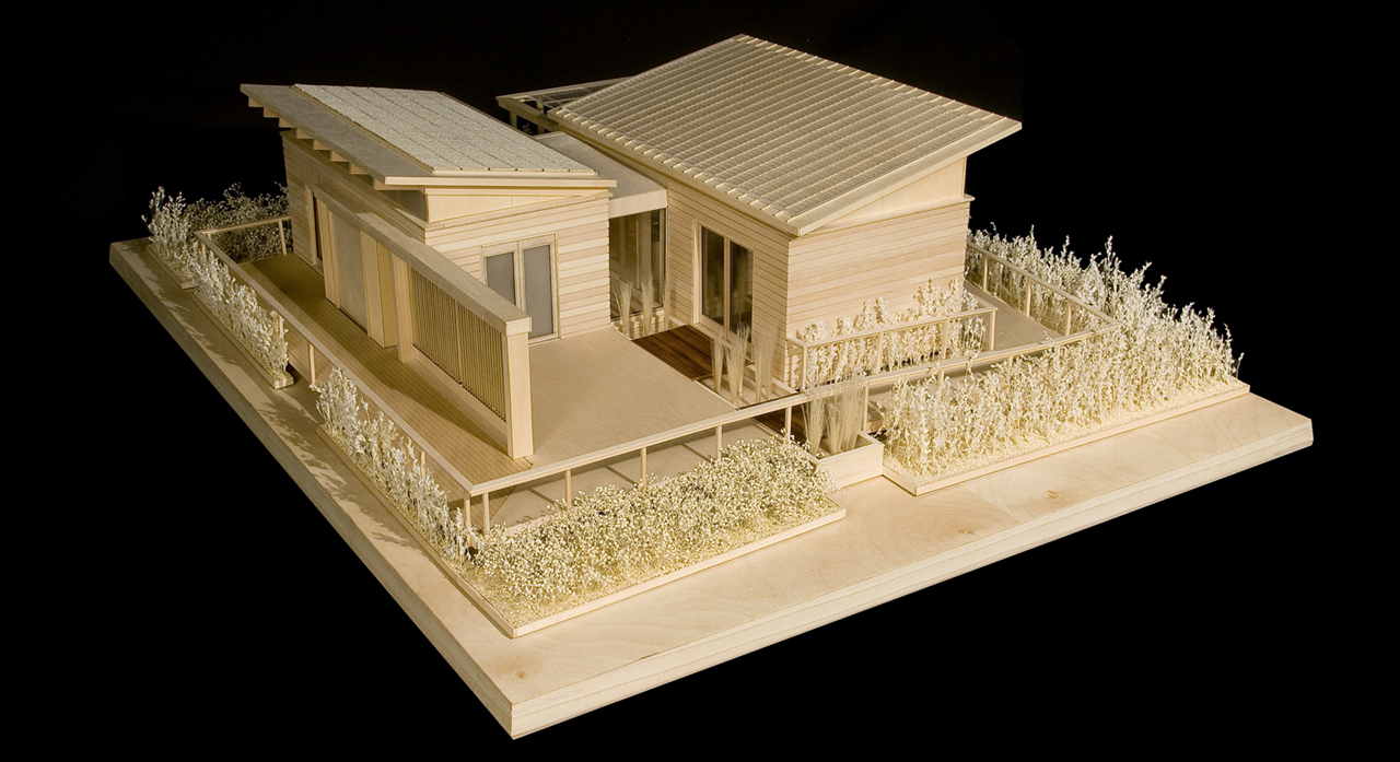 2011 Solar Decathlon University of Maryland WaterShed Model