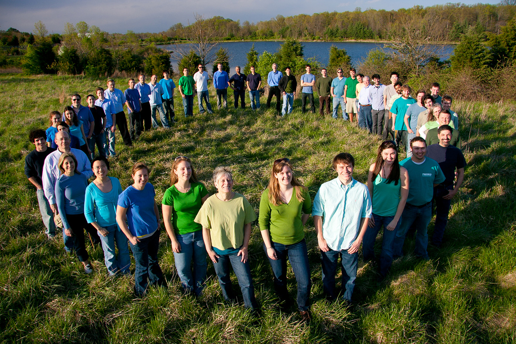 2011 Solar Decathlon University of Maryland WaterShed Team Photo