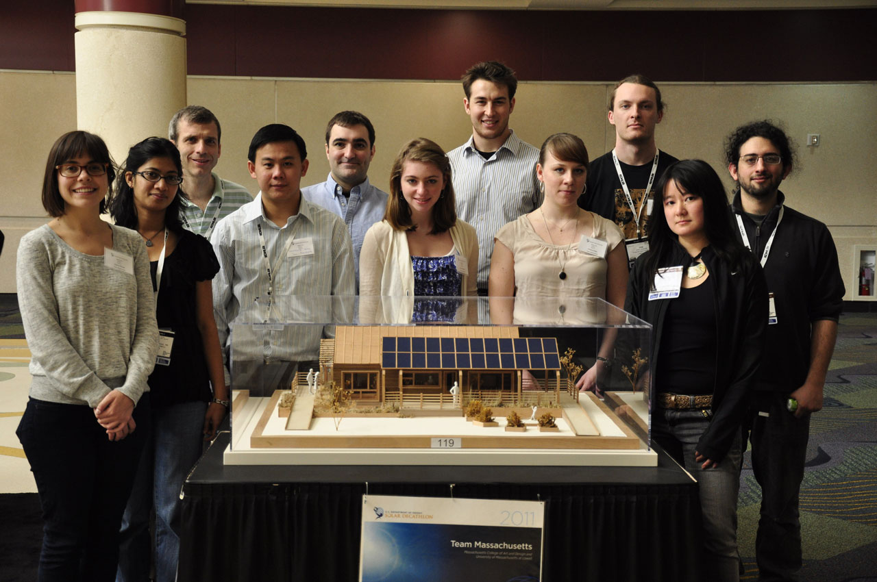 University of Massachusetts 4D Home Solar Decatlon Team