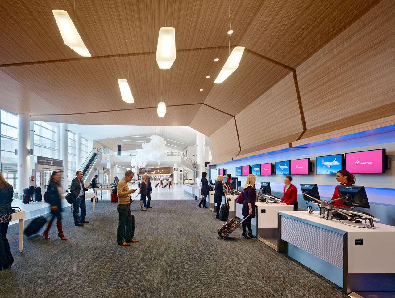 Sustainable education san francisco international airport for International decor gates
