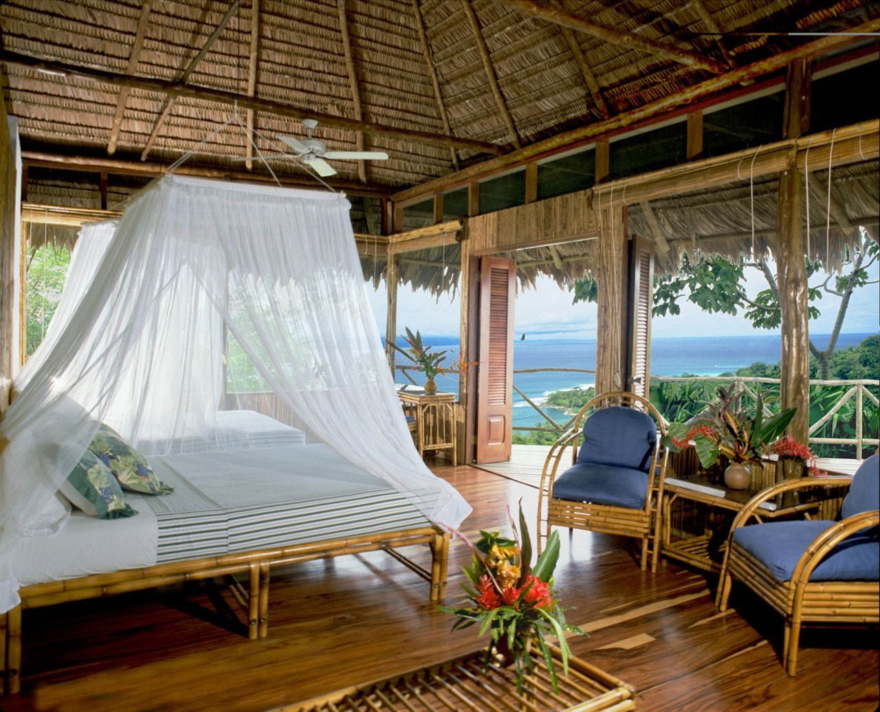 Private guest bungalow of the Lapa Rios Rainforest Ecolodge in Costa Rica