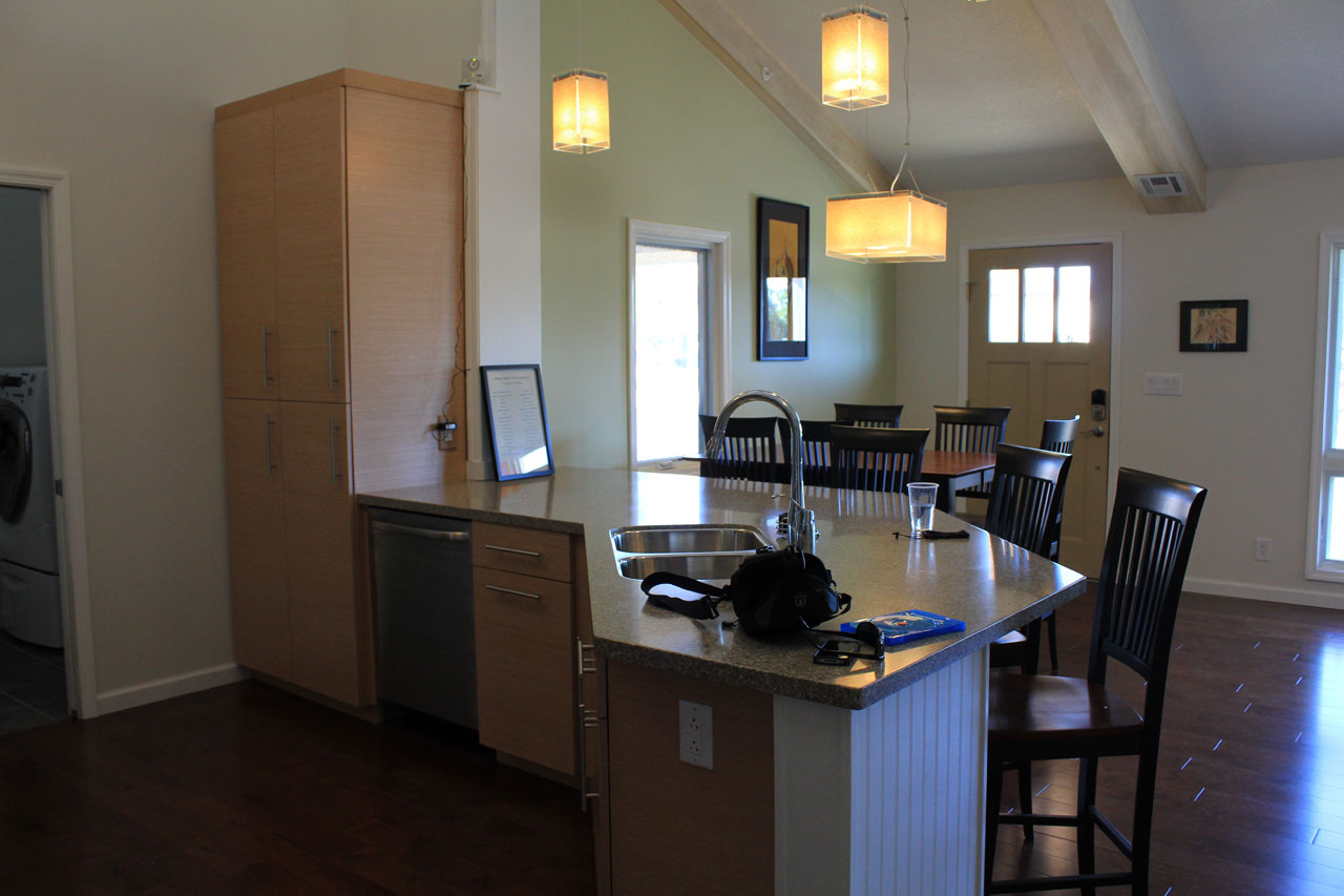 2011 Solar Decathlon Purdue University's INHome kitchen