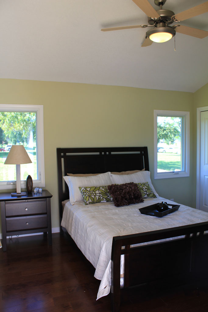 2011 Solar Decathlon Purdue University's INHome bedroom