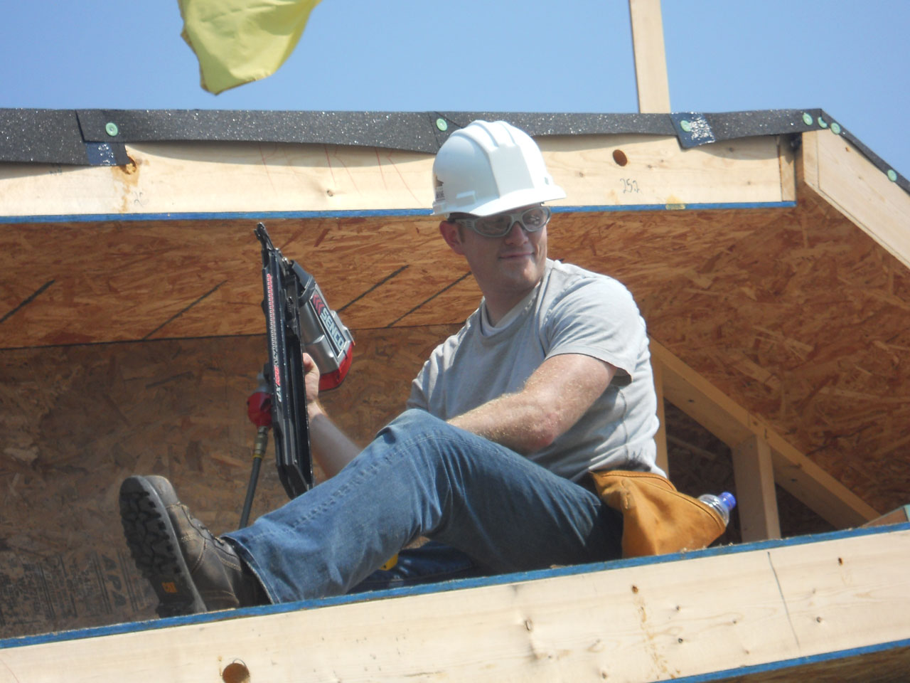 2011 Solar Decathlon Purdue University's INHome construction