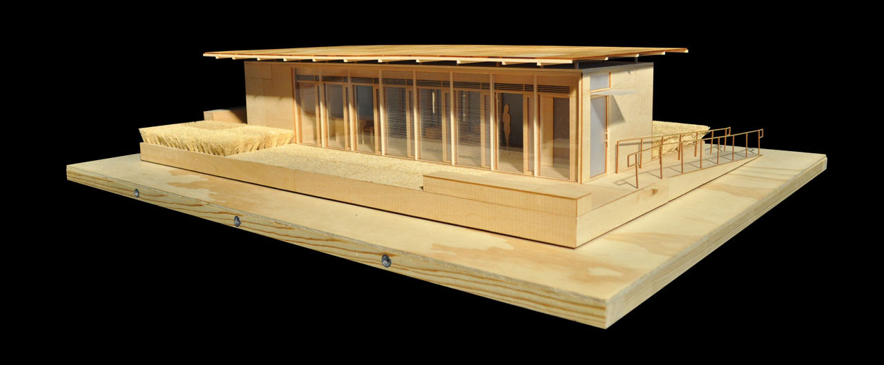 2011 Solar Decathlon University of Tennessee Living Light model