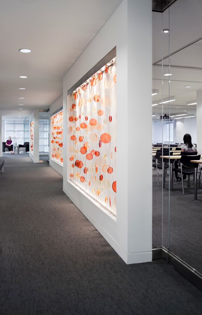 American Society of Hematology headquarters interior office space by RTKL Architects