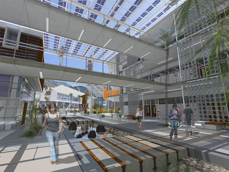 College of the Desert Rendering by HGA Architects and Engineers