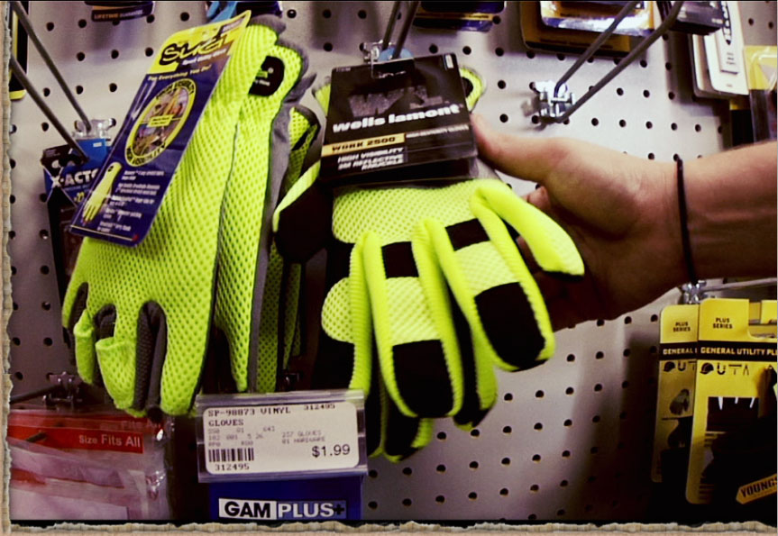 Basic DIY Toolkit Gloves