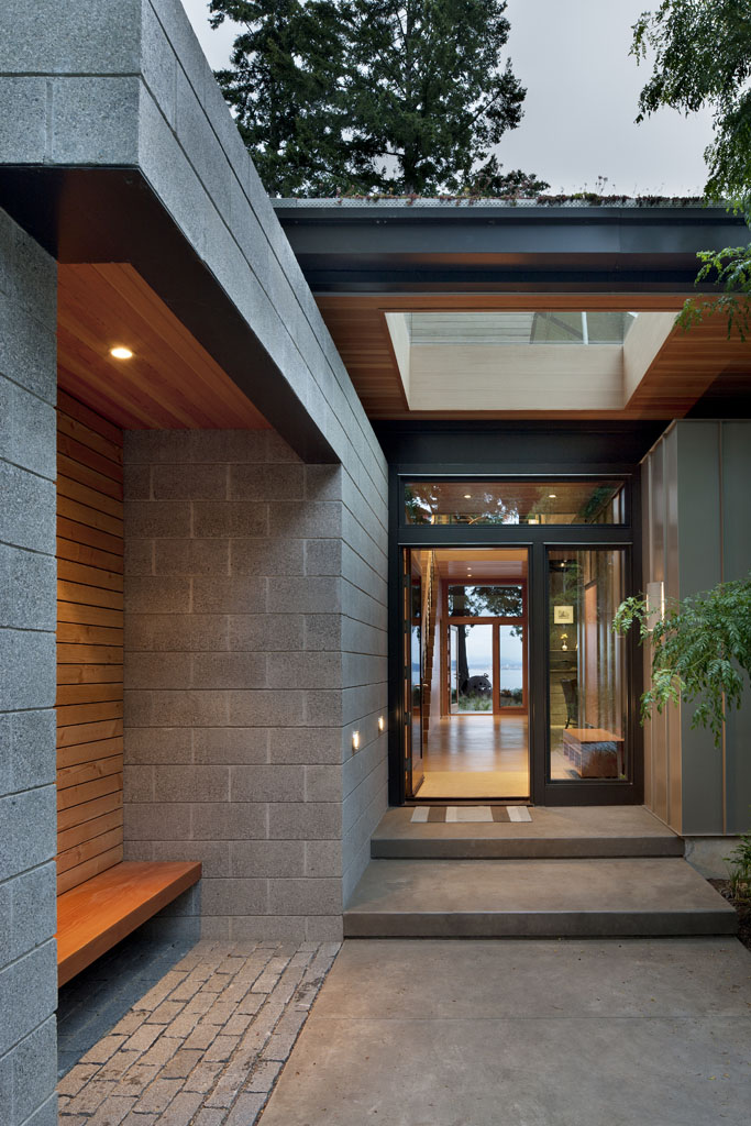 Architecture Exterior: Green House Of The Month: The Ellis Residence By Coates