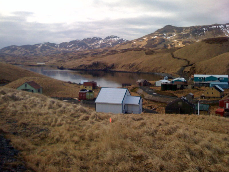 Alaskan Housing Competition Site Photo