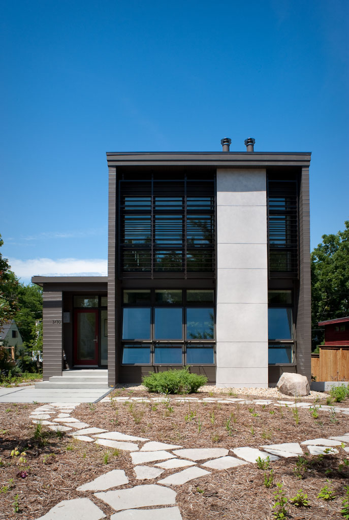 Simple Ross Street House in Madison Wisconsin Credit Zane Williams