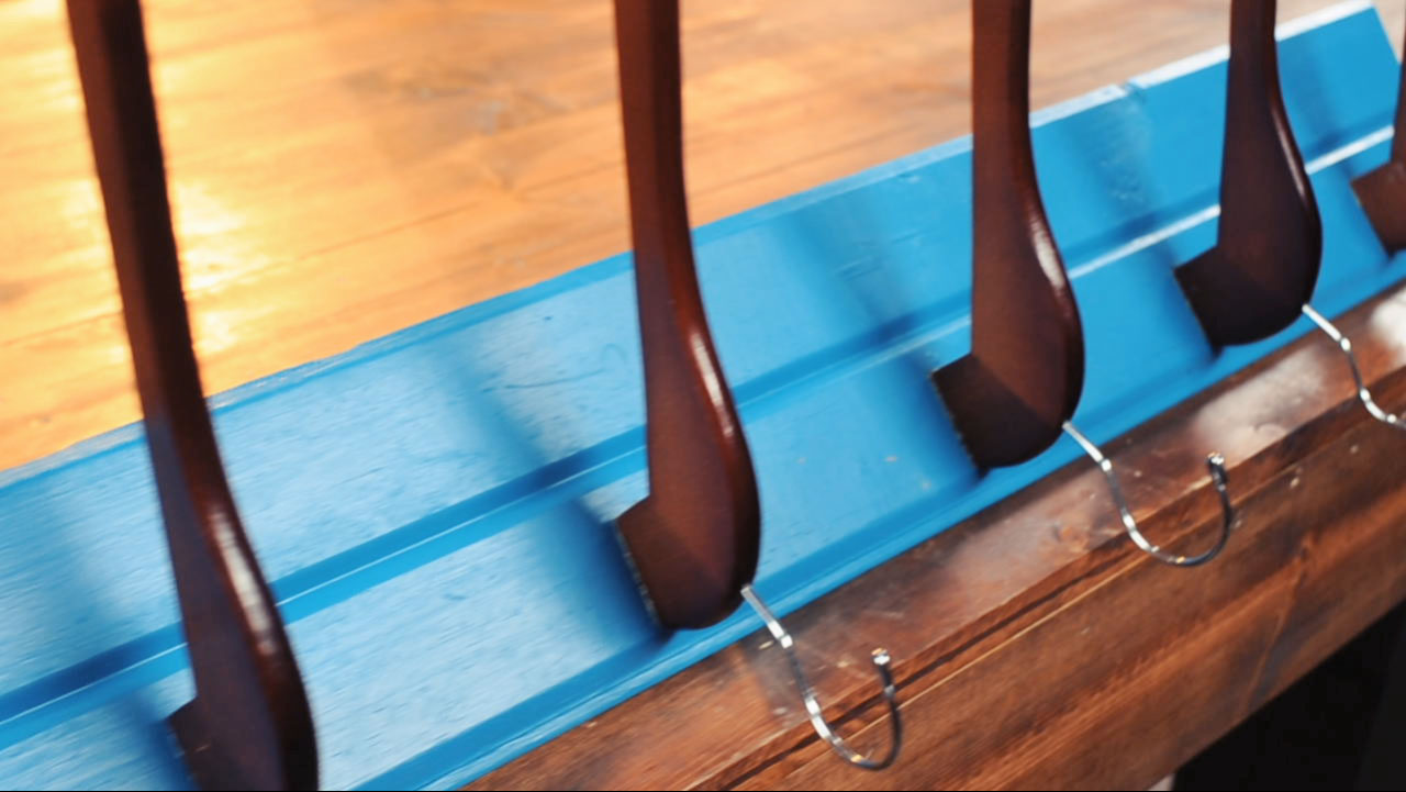 Upcycled Coat Rack - Recycled Coat Rack - DIY Handyman - Odd Jobs