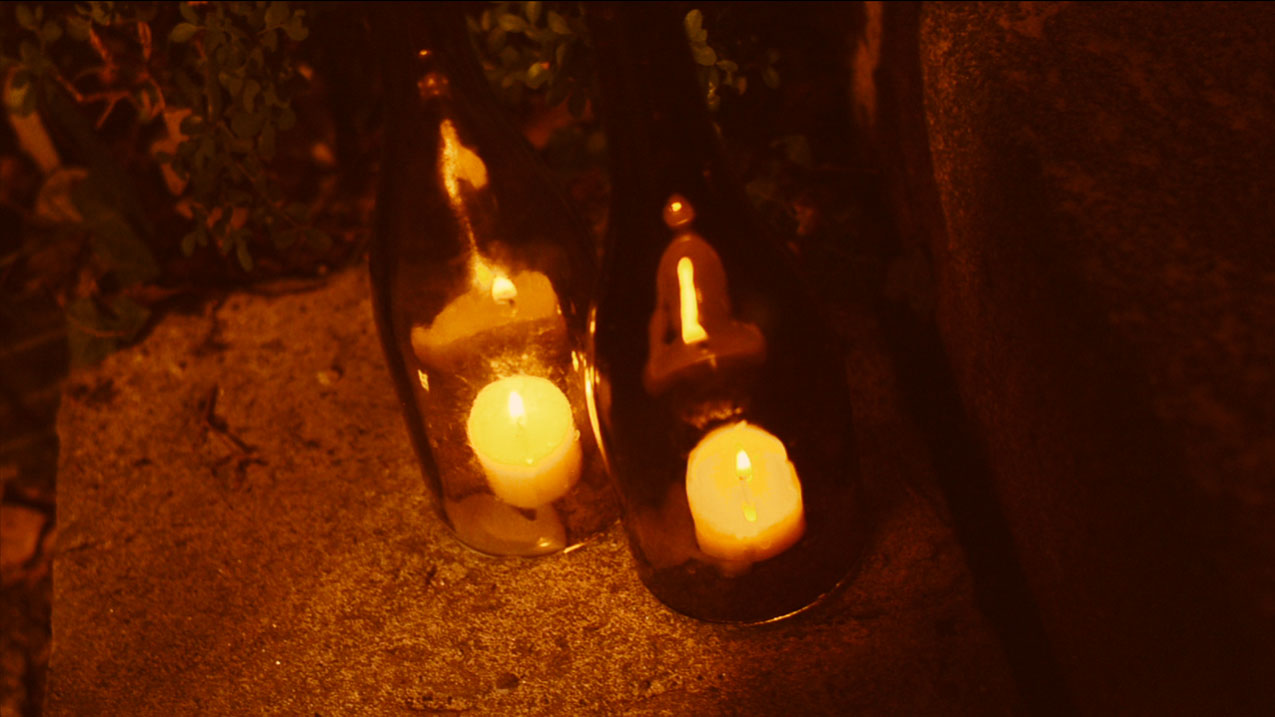 Finished Wine Bottle Hurricane Lamps