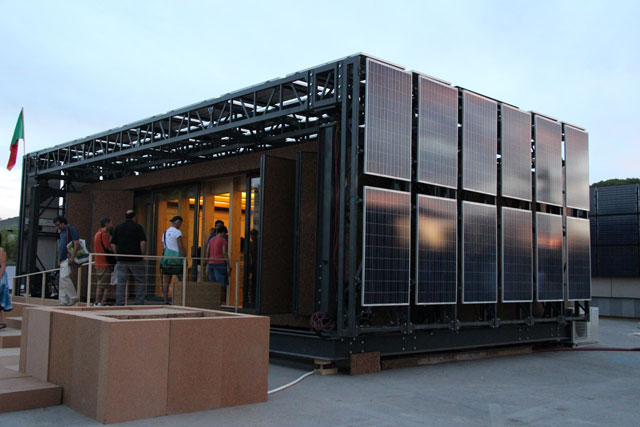 CEM solar house design.