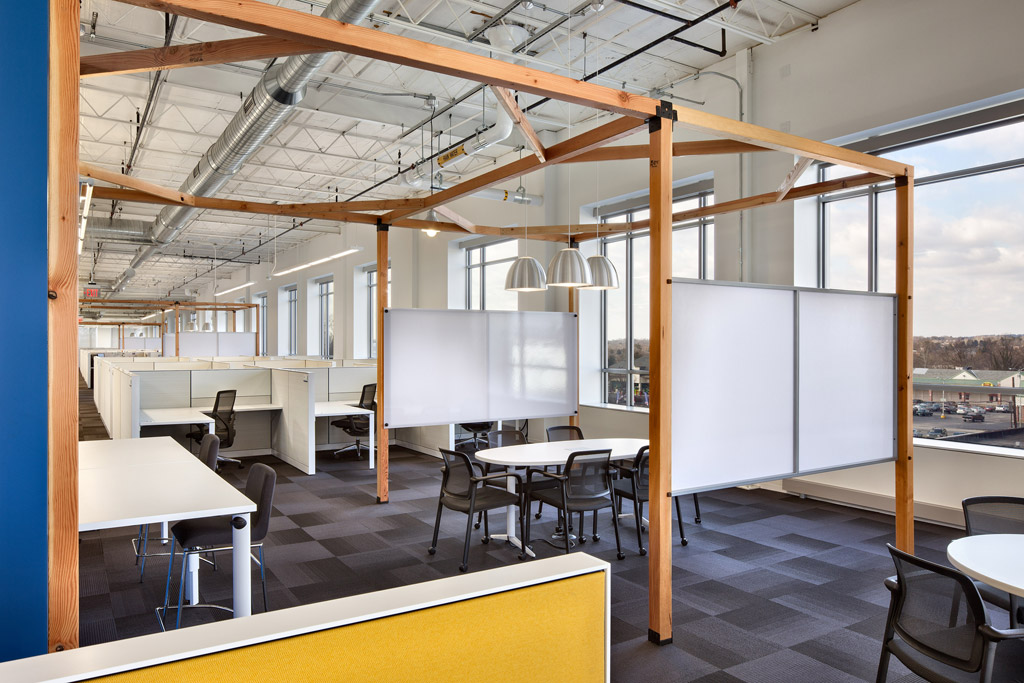 Renovation Of An Aging Urban Building Into MultiPurpose Office Awesome Interior Design Technology Remodelling