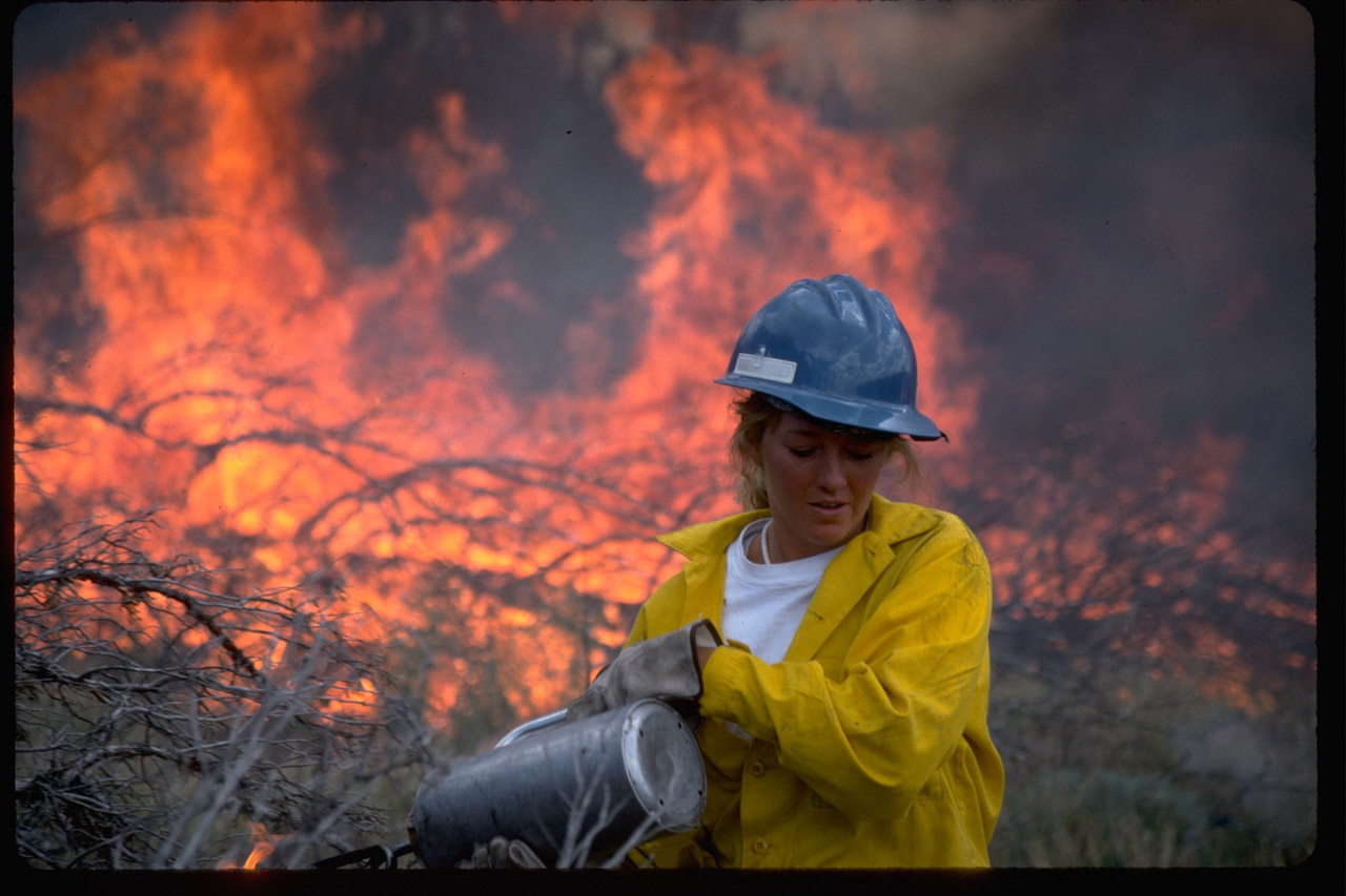 Fire fighter - Credit Bureau of Land Management