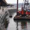Marine Habitat Construction | Courtesy of WorleyParsons Canada Ltd.