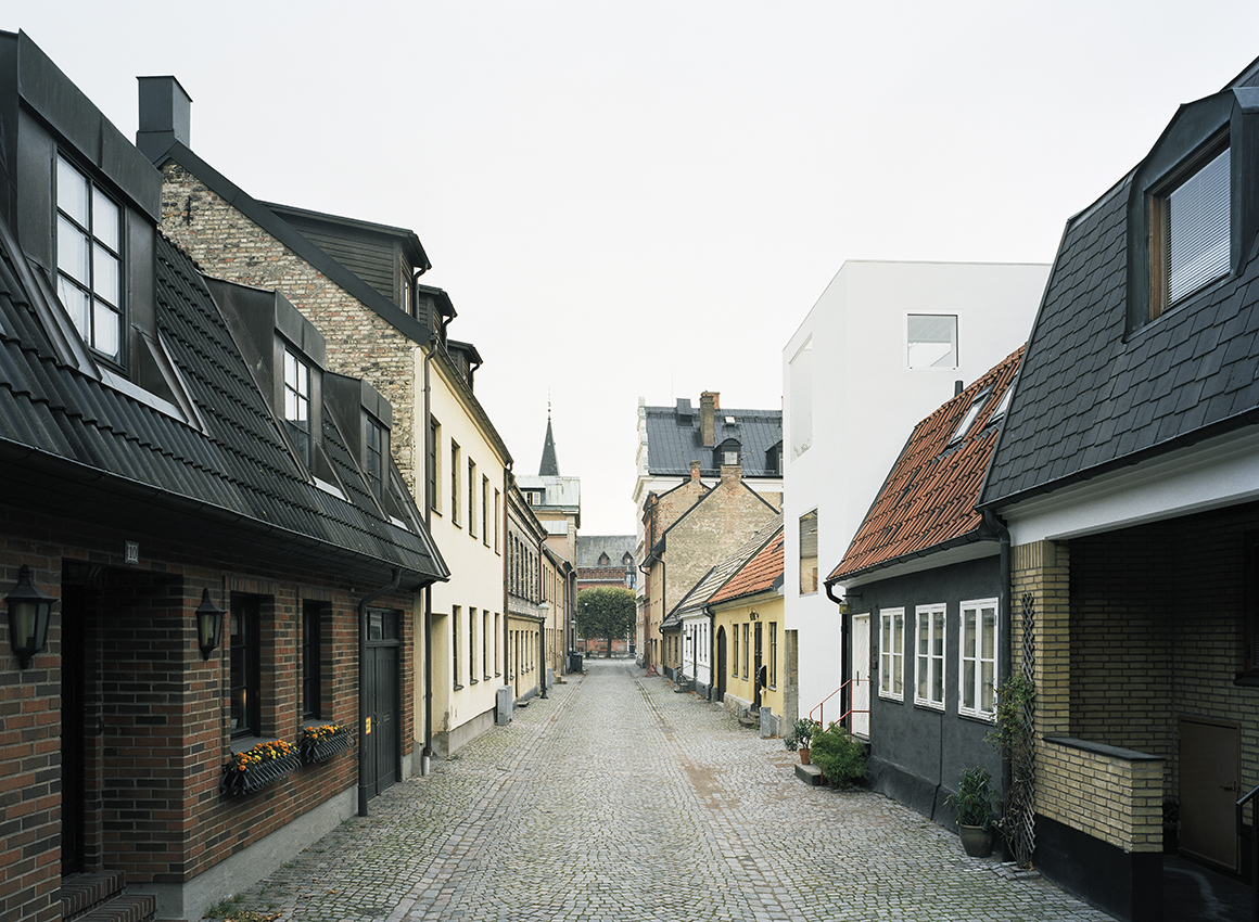 House of the month elding oscarson 39 s green landskrona for Townhouse construction cost