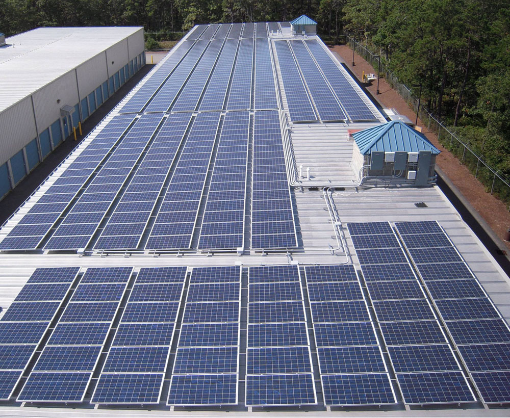 rooftop renewable photovoltaic system